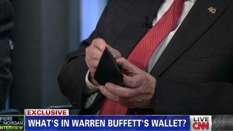 pmt warren buffett and his wallet _00004423.jpg