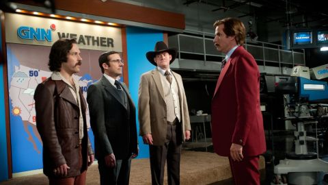 """After months of heavy promotion, San Diego's classiest news team is back in business with """"Anchorman 2: The Legend Continues."""" This time, Will Ferrell's Ron Burgundy and his crew have their sights set on conquering a cable news channel in the Big Apple. (Release date: December 18)"""