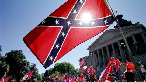 Dean Obeidallah says today's Confederate flag was a battle flag carried by troops who hated the U.S. when they killed U.S. soldiers.