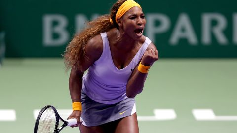 Defending champion Williams had a rest on Friday, having already sealed her semifinal berth with three successive victories.
