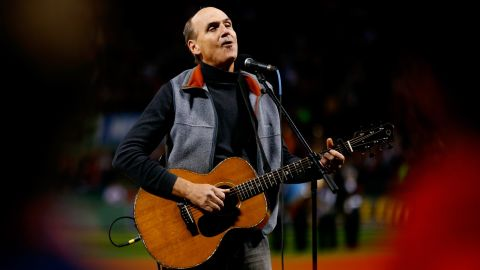 """At the World Series game on October 24, 2013, it was James Taylor who had the save of the night. The singer was there to lead the stadium in the national anthem, but instead of """"The Star-Spangled Banner,"""" he began singing """"America the Beautiful."""""""