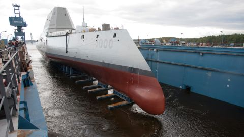 The DDG-1000 is longer and faster than its predecessors, and it will carry state-of-the-art weapons that can destroy targets more than 60 miles away, according to the Navy.