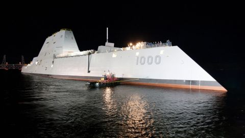 The Navy had planned to spend up to $20 billion to design and deliver seven DDG-1000 destroyers. But cost overruns cut production to three ships.
