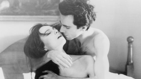 """Daniel Day-Lewis and Lena Olin had some sexy scenes in """"The Unbearable Lightness of Being."""""""