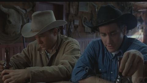 """Heath Ledger, left, and Jake Gyllenhaal share a cowboy love that dare not speak its name in """"Brokeback Mountain."""""""