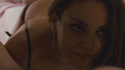 "Mila Kunis <a href=""http://moviesblog.mtv.com/2010/12/01/mila-kunis-bans-father-black-swan-sex-scene/"" target=""_blank"" target=""_blank"">reportedly banned her father from watching her sex</a> scene with Natalie Portman in ""Black Swan."""