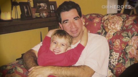 Richard Nares and his son, Emilio