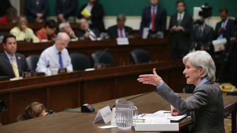 Health and Human Services Secretary testifies before the House Energy and Commerce Committee about the Healthcare.gov website