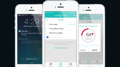 The Filament Labs app reminds users about their doctors' advice as well as helps keep the lines of communication open between patients and health professionals.