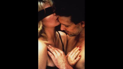 """""""Nine 1/2 Weeks,"""" starring Mickey Rourke and Kim Basinger, wasn't a huge commercial success, and critics didn't love it -- <a href=""""http://www.rogerebert.com/reviews/9-12-weeks-1986"""" target=""""_blank"""" target=""""_blank"""">except maybe Roger Ebert</a> -- but it had couples acting out that <a href=""""http://www.youtube.com/watch?v=sIwD-oDm6cU"""" target=""""_blank"""" target=""""_blank"""">food scene.</a>"""