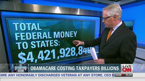 tsr live Foreman obamacare costing taxpayers billions_00013227.jpg