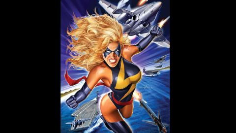 Carol Danvers, formerly Ms. Marvel but currently Captain Marvel, made her first appearance in 1967.