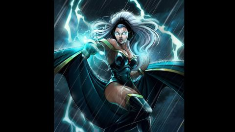 Ororo Munroe, the X-Men's Storm, made her first appearance in 1976.