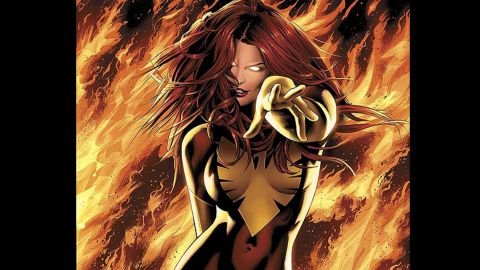 Jean Grey-Summers, Phoenix. First appearance in 1981. Marvel Universe.