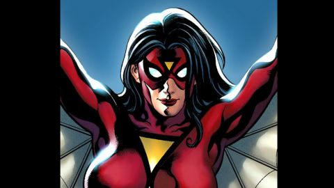 Here's the original Spider-Woman costume.
