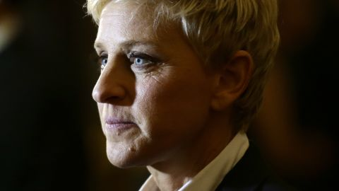 """<strong>TV personality:</strong> Ellen DeGeneres (<a href=""""https://twitter.com/TheEllenShow"""" target=""""_blank"""" target=""""_blank"""">@TheEllenShow</a>) has 24.8 million followers. Her bio reads: """"Comedian, talk show host and ice road trucker. My tweets are real, and they're spectacular."""""""