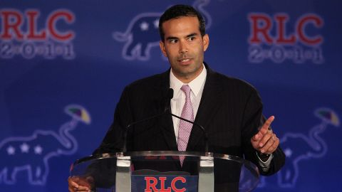 George P. Bush speaks during the 2011 Republican Leadership Conference in New Orleans. The grandson of former President George H.W. Bush is a Texas land commissioner.