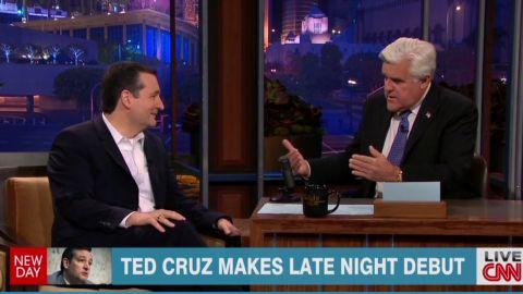 newday mcpike ted cruz late night debut _00005405.jpg