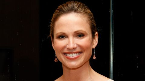 """ABC's Amy Robach found out she had breast cancer in November 2013 after she had a mammogram done live on """"Good Morning America"""" for cancer awareness month."""