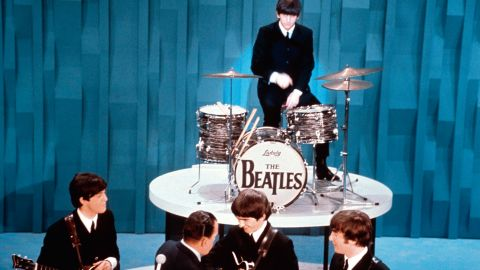 """<strong>The Beatles made their U.S. television debut on """"The Ed Sullivan Show,"""" February 9, 1964.</strong> It was the band's first U.S. television performance, but they'd already been seen on American TV during a CBS News segment in December, 1963. Pieces from the segment also ran on Jack Paar's talk show in January 1964."""
