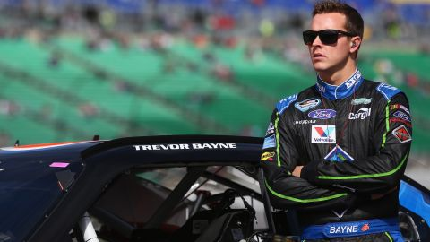 """NASCAR driver Trevor Bayne announced that he was <a href=""""http://www.cnn.com/2013/11/12/health/trevor-bayne-multiple-sclerosis/index.html"""">diagnosed </a>in 2013. The chronic disease affects the central nervous system, often causing pain, numbness in the limbs and a loss of vision."""