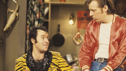 """David Lander, left, who played Squiggy on TV's """"Laverne & Shirley,"""" hid his diagnosis for 15 years """"primarily because I didn't think show business would embrace the fact that I have a chronic disease known as multiple sclerosis,"""" he said in a 2001 <a href=""""http://transcripts.cnn.com/TRANSCRIPTS/0105/17/lad.08.html"""">interview with CNN</a>."""