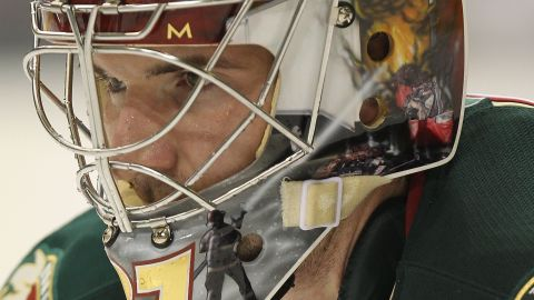Josh Harding, formerly a goaltender with the NHL's Minnesota Wild, was diagnosed with MS at the age of 28.