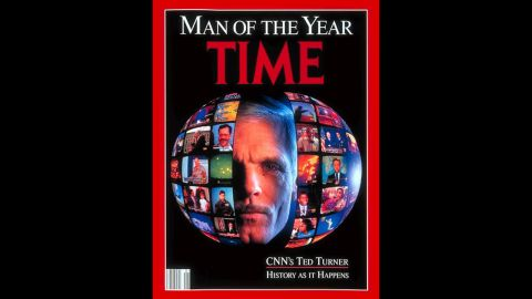 """Turner was named Time magazine's """"Man of the Year"""" in 1991."""