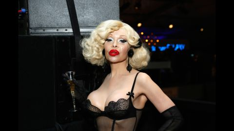 """Amanda Lepore is an iconic mainstay on the fashion and New York  nightlife scenes. She has been a muse for<a href=""""http://www.veoh.com/adultwarning/watch/v660934ndtZGMny"""" target=""""_blank"""" target=""""_blank""""> fashion photographer David LaChapelle.</a>"""