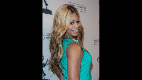"""Laverne Cox, who was cast as Frank-N-Furter in the """"Rocky Horror Picture Show"""" remake, is the first openly transgender person to be nominated for an Emmy.  She appeared on the VH1 reality show """"I Want to Work for Diddy"""" and later produced her own series,<a href=""""http://www.vh1.com/shows/transform_me/series.jhtml"""" target=""""_blank"""" target=""""_blank""""> """"TRANSform Me."""" </a>She now portrays Sophia, a trans woman in prison, on the Netflix show """"Orange Is the New Black."""" She received the Emmy nomination for that role."""