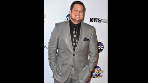 """Chaz Bono, the only child of entertainers Cher and Sonny Bono, arrives at a """"Dancing With the Stars"""" special in May 2013. Bono was named Chastity at birth but came out as a lesbian in 1995 and later transitioned to living as a man. His transformation was chronicled in a book and a documentary feature, """"Becoming Chaz."""""""