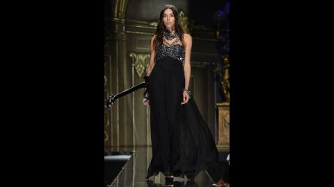 """Lea T is a Brazilian/Italian who has served as a muse for the designer Givenchy. She <a href=""""http://www.thefrisky.com/2013-01-28/transgender-model-lea-t-speaks-and-seems-totally-awesome/"""" target=""""_blank"""" target=""""_blank"""">revealed she was transgender</a> in 2010."""