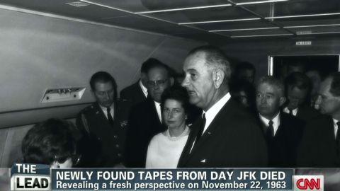 lead tapper pkg air force one tapes jfk death_00013715.jpg