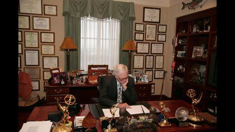 Turner in his Atlanta office in 2007.
