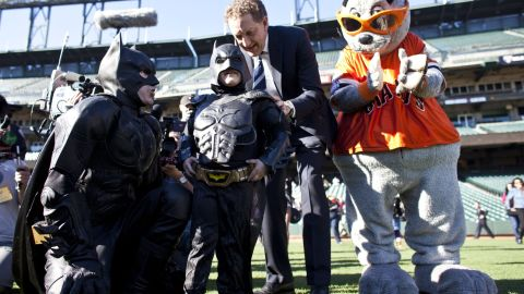 """Leukemia survivor Miles Scott, 5, is probably one of the <a href=""""http://www.cnn.com/video/?/video/us/2013/11/15/dnt-simon-batkid-dream-gotham-city-rescue.cnn"""">best known child superhero fans</a>. His nickname is """"BatKid"""" and last year, the Make-A-Wish foundation turned San Francisco into Gotham City for a day to fulfill Scott's wish of bringing BatKid to life."""