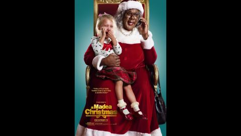 """Tyler Perry's Madea is in the holiday spirit this year, as the tart-tongued elder returns with """"Tyler Perry's A Madea Christmas."""" Also starring Chad Michael Murray, Tika Sumpter and Kathy Najimy. (Release date: December 13)"""
