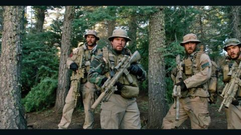 """Based on an actual military mission, """"Lone Survivor"""" tells the story of a crew of Navy SEALs who find themselves serving on a capture or kill hunt for a Taliban leader on what becomes a deadly operation. Film stars Mark Wahlberg, Emile Hirsch, Taylor Kitsch, Alexander Ludwig and Ben Foster. (Release date: Select cities on December 27 before going wide January 10.)"""