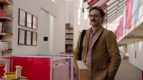 """Spike Jonze's """"her"""" is sure to spark lots of discussion at holiday parties. The drama stars Joaquin Phoenix as a writer whose loneliness compels him to develop an unusual attachment to a new operating system (voiced by Scarlett Johansson) that's equipped to meet all of his needs. (Release date: Select cities on December 18 before moving wide on January 10)"""
