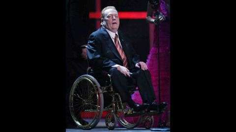 Hustler magazine publisher Larry Flynt was paralyzed from the waist down by the 1978 assassination attempt.