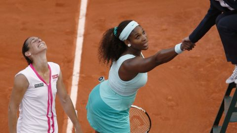 One of the lowest moments of Serena's career came with a first round defeat to unseeded opponent Virginie Razzano at the French Open in 2012. It led many to wonder whether she could recapture the glorious heights of yesteryear.