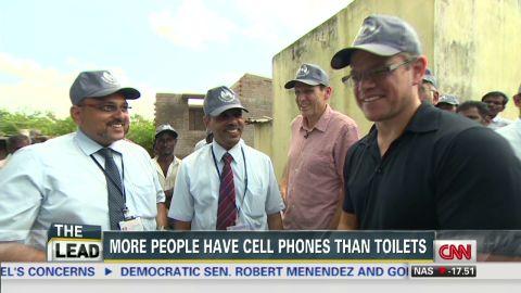 Lead dnt Matt Damon world toilet day water crisis _00010029.jpg