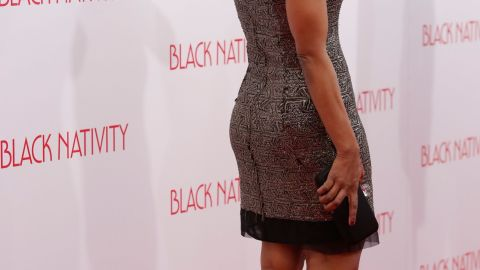 """Angela Bassett attends the """"Black Nativity"""" premiere at The Apollo Theater on November 18, 2013 in New York City."""
