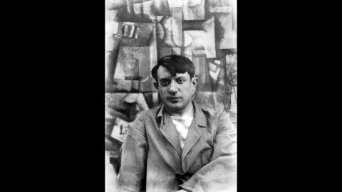 Spanish painter Pablo Picasso was also questioned by police after buying two stone statues from Apollinaire's secretary, Josephe-Honoré Géry Pieret. Once Pieret admitted to stealing the statues from the Louvre in 1907, Apollinaire and Picasso returned them.