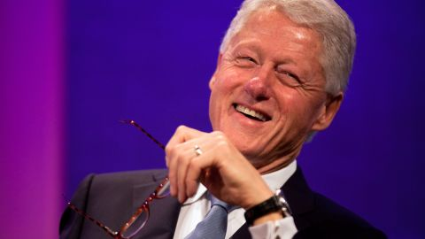 """Former President Bill Clinton is one of 16 recipients of the Presidential Medal of Freedom. The 42nd president is being honored for his service in the White House as well as for the Clinton Foundation which strives """"to improve global health, strengthen economies, promote health and wellness, and protect the environment,"""" according to the White House."""