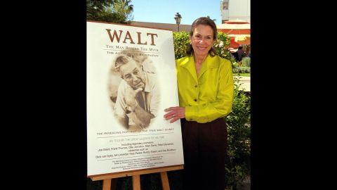 "The eldest daughter of Walt Disney, <a href=""http://www.cnn.com/2013/11/19/showbiz/walt-disney-daughter-dead/index.html"">Diane Disney Miller</a>, died on November 19, according a statement from the museum dedicated to the legendary animated filmmaker. She was 79."