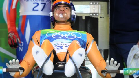 One of his biggest struggles has just been getting together the funds in order to make the start line in Sochi, which he has now finally ensured via the IOC and sponsors.