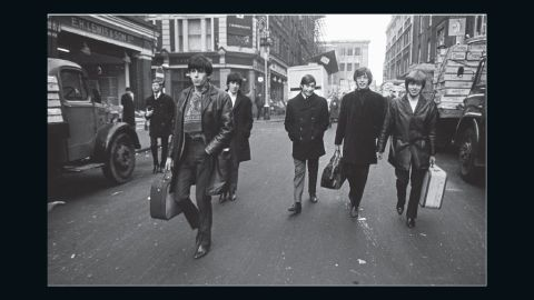 """""""The Rolling Stones were just these boys walking down the street. First time we got some cash we all went out and bought new guitars and Beatles boots,"""" says guitarist Keith Richards."""