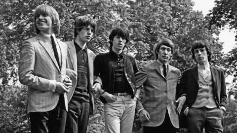 """""""Brian Jones (left) felt threatened because he had control of the Rolling Stones until I came along,"""" remembers Oldham. """"In any band there's a group leader until there's a manager."""""""