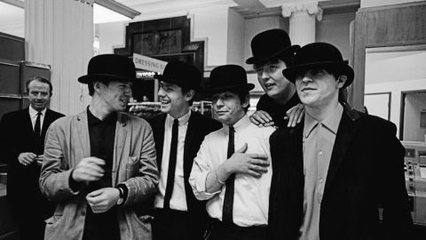 """""""I heard about this band the Animals (pictured) coming into London from Newcastle,"""" says O'Neill. """"I took them shopping first, then to a studio, because they didn't look the business. They looked like laborers."""""""
