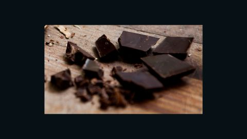 Dark chocolate seems to last longer than milk chocolate, though fats can rise to the surface and give it a moldy appearance